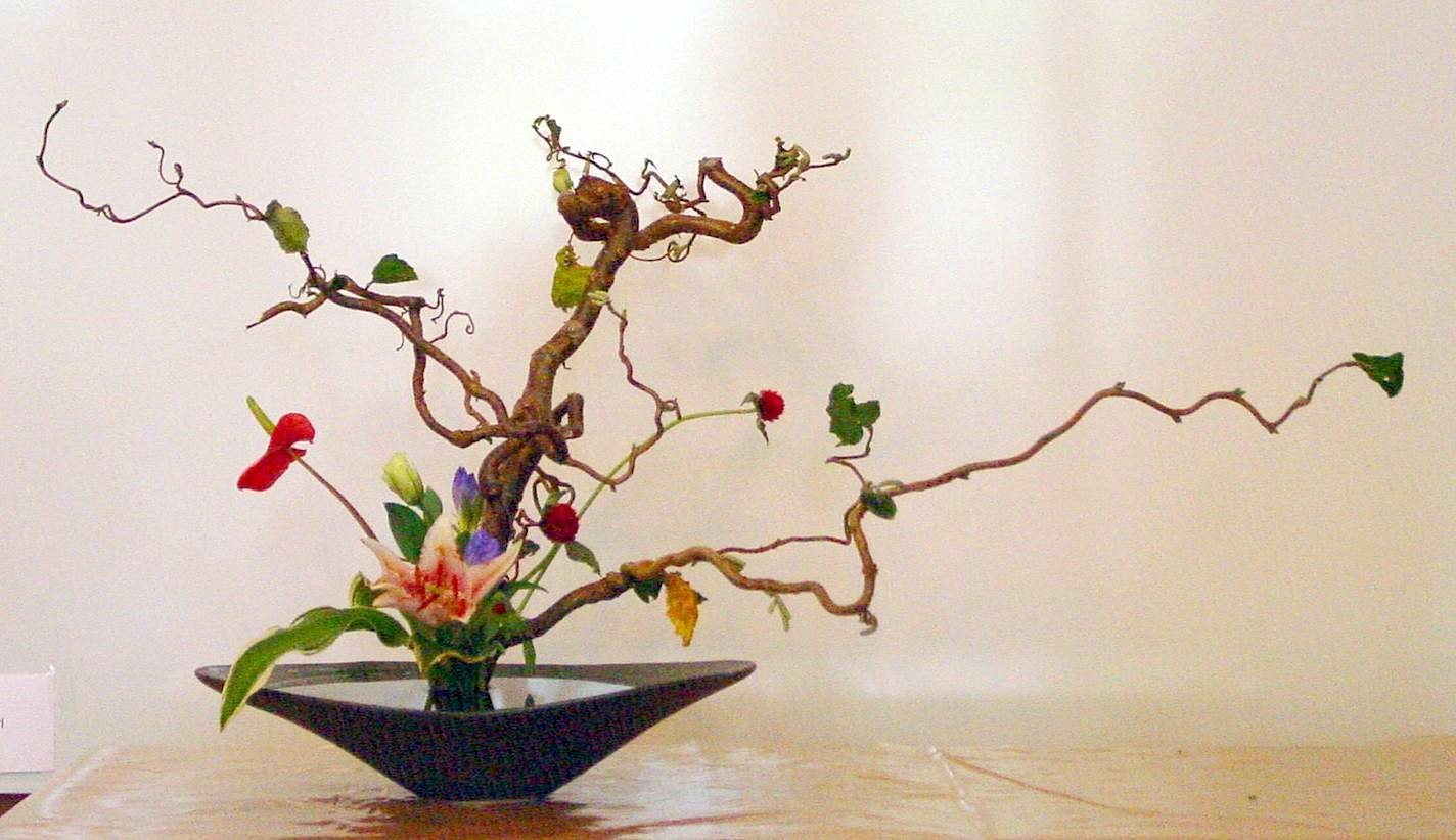 هنر گل آرایی ژاپنی یا ایکه بانا