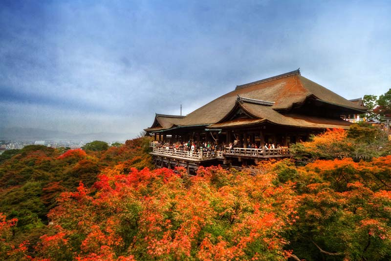 معبد کیومیزو درا - کیوتو