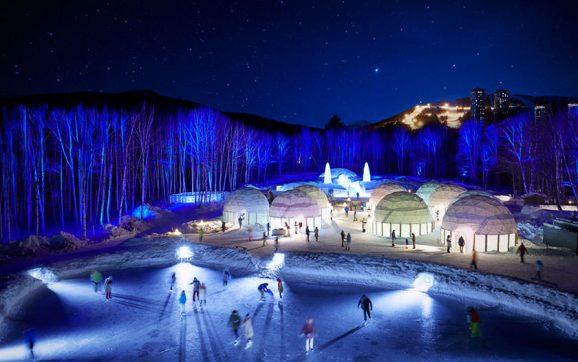 یک دهکده یخی به زودی در جزیره هوکایدوی ژاپن افتتاح میشود