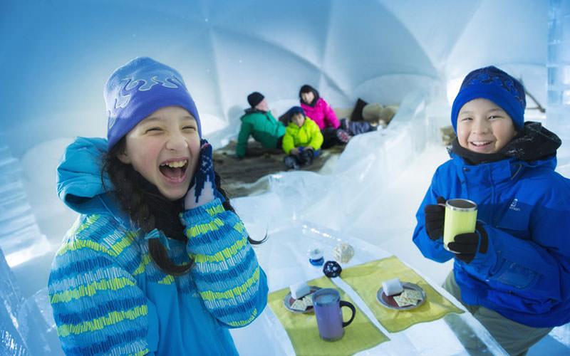 دهکده یخی ژاپن