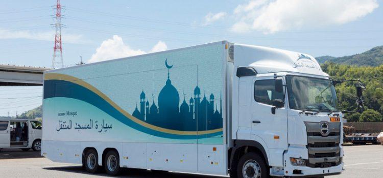 ساخت مساجد متحرک برای رونق المپیک ۲۰۲۰ در ژاپن