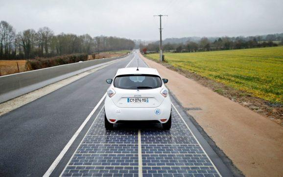 گام بلند توکیو برای ساخت جاده خورشیدی