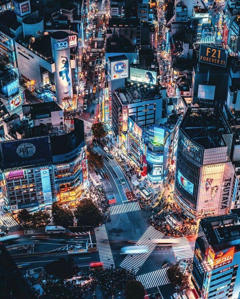 توکیو - برفراز شیبویا