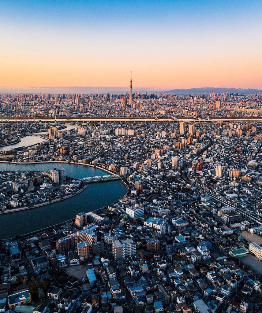 برفراز توکیو