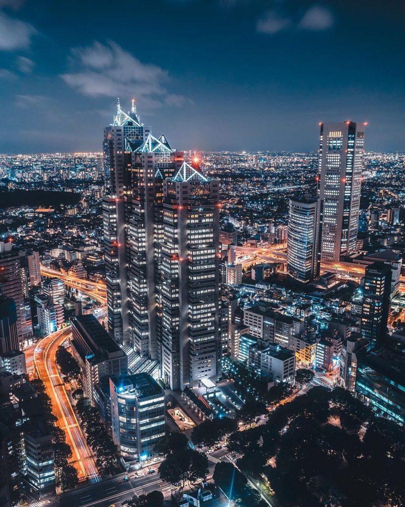 توکیو منطقه شینجوکو