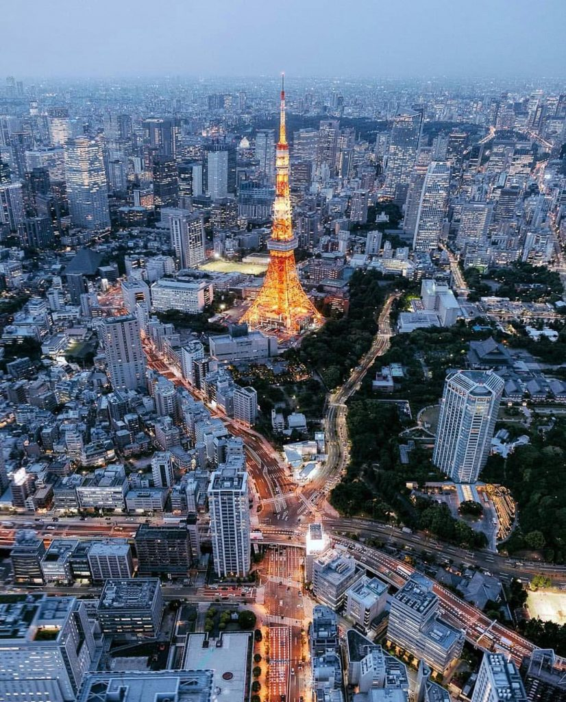 توکیو تاور (برج توکیو) / tokyo tower