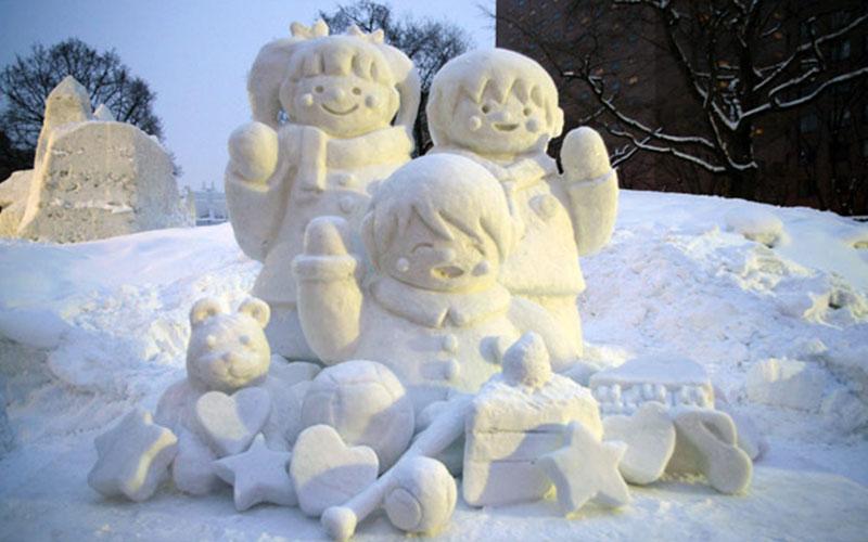 جشنواره برف ساپورو